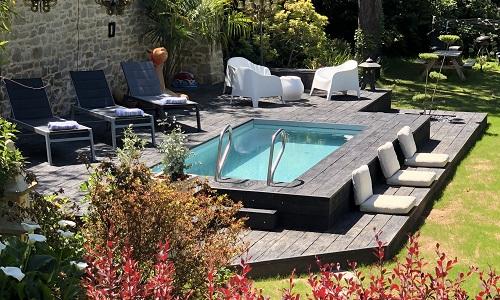 Gîte location vacances avec piscine Bretagne
