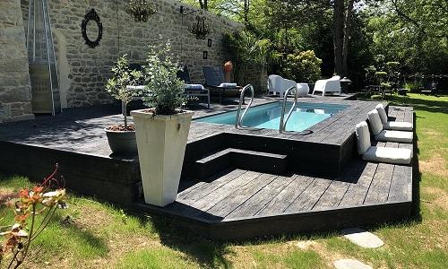 Piscine Maison d'hôtes à Daoulas dans le Finistère